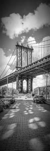 Wandbild NEW YORK CITY Manhattan Bridge | Panorama vertikal