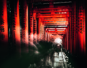 Wandbild Fushimi Inari Shrine by Chiriaco