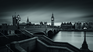 Wandbild Westminster Bridge by Oscar Lopez, 1x.com