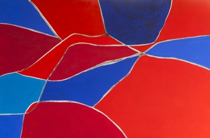 Wandbild Red-White-Blue_1
