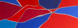 Wandbild Red_-White-Blue_3