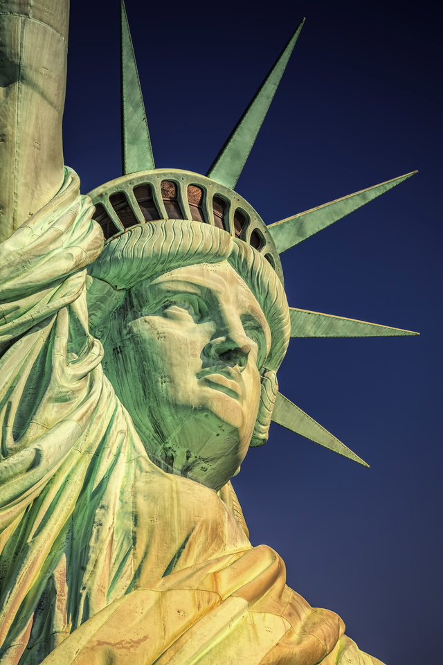 United States, USA, New York City, Manhattan, Lower Manhattan, Liberty Island, Statue of Liberty, Statue of Liberty