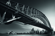 Wandbild Harbour Bridge Profile Mk.I by Dr. Akira TAKAUE